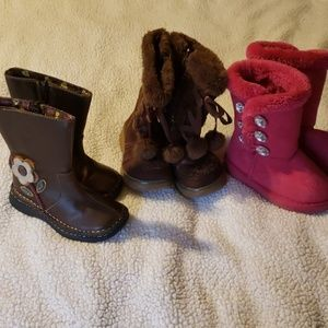 Cute toddler size 8 boots